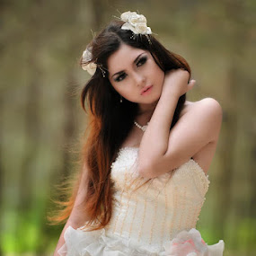 angel by Taufiq Hidayat - Wedding Bride