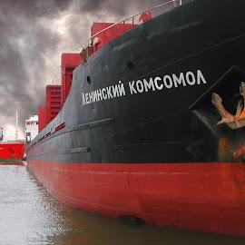 power by Emilija Miljkovic - Transportation Boats