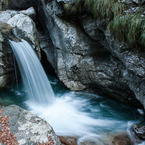 Vertova waterfalls by Pietro Ebner - Nature Up Close Water (  )