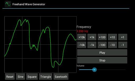 Freehand Wave Generator