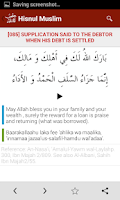 Screenshot of Hisnul Muslim | حصن المسلم