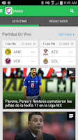Screenshot of Univision Deportes