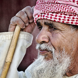 The Portrait of Omani by Rid Morat - People Portraits of Men