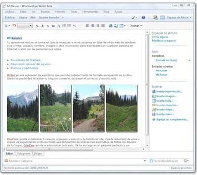 Windows Live Writer 14