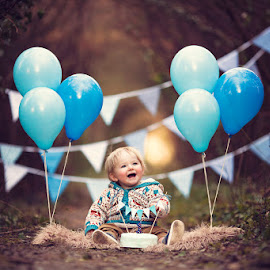 Happy 1st Birthday Isaac! by Claire Conybeare - Chinchilla Photography - Babies & Children Toddlers