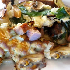 Crustless Stir-Fry Quiche, or Scrambled Omelette