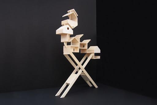 Bird appartment by Maxime Delporte