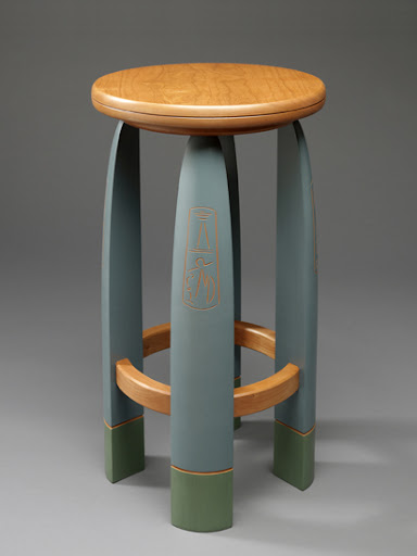 Split Leg Stool Created by: Mark Del Guidice