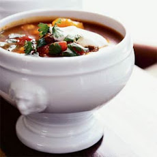 Mexican Beef and Hominy Soup