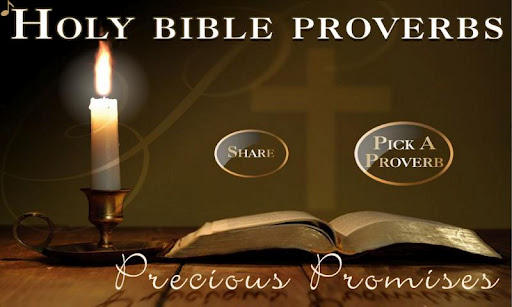 Holy Bible Proverbs