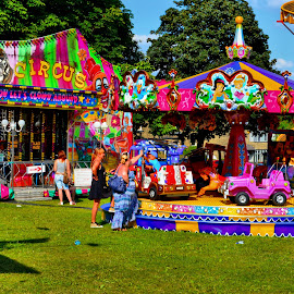 fairground by Nic Scott - City,  Street & Park  Amusement Parks ( funfair, fairground, fair )