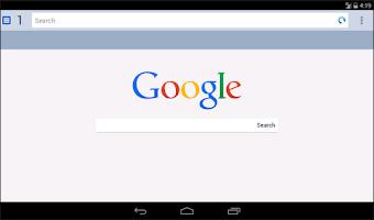 Screenshot of GoNav Fast Internet Browser
