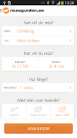 Screenshot of Reseguiden.se Sista-minuten