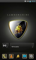 Screenshot of Lamborghini GO Theme