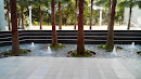 Trees And Mini Fountains