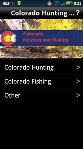Colorado Hunting and Fishing