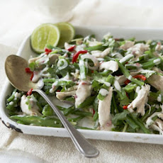 Thai Shredded Chicken & Runner Bean Salad