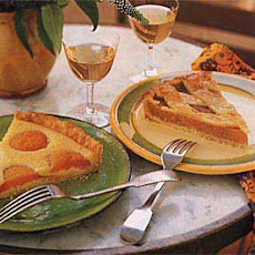 Apricot Tart with Honey and Almonds