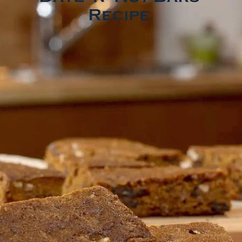 Molasses Date Nut Bars