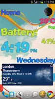 Screenshot of The Weather Wall