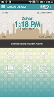 Screenshot of Salam Muslim