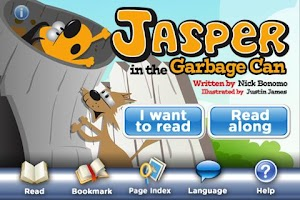 Screenshot of Jasper Garbage Can StoryChimes