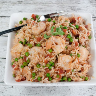 Slow Cooker Caribbean Shrimp and Rice