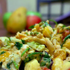 Apple & Mango Curried Chicken Salad