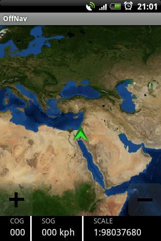 Offnav marine chart navigation