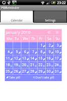 Screenshot of PillReminder