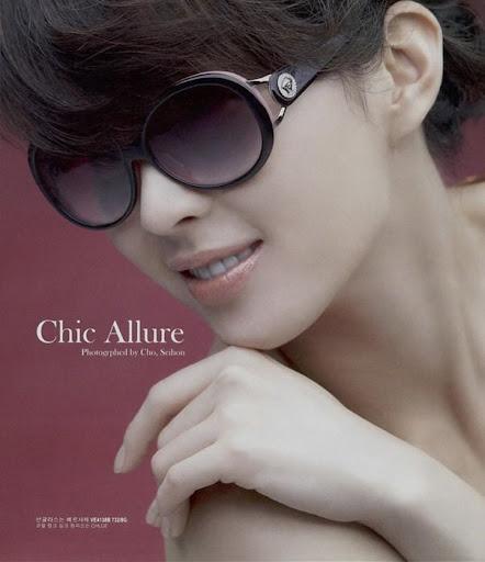 Youn A Song sexy Mature temptation Sunglasses Song Youn A