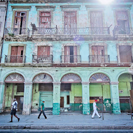 Streets of Havana by Galli Levy - Buildings & Architecture Homes ( home, building, old, street, cuba,  )