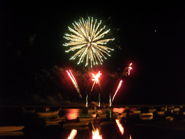 Fireworks on the Ria Formosa