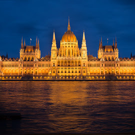 Parliament, Budapest by Matthew Haines - Buildings & Architecture Public & Historical