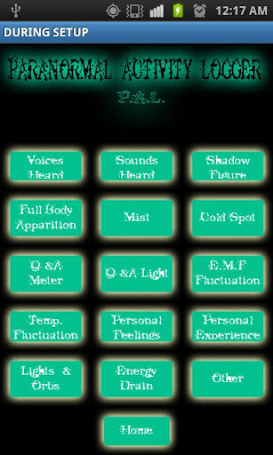 【免費工具App】Paranormal Activity Logger-APP點子