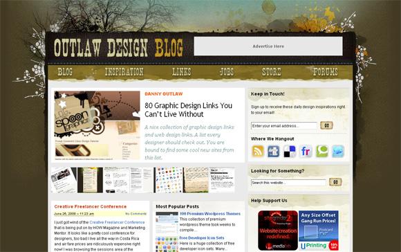 Outlaw Design Blog - лучшие блоги о дизайне