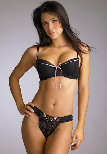 Alina Vacariu Model Lingerie