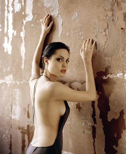 Angelina Jolie hot sexy boobs image