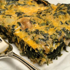 Brown Rice and Spinach Casserole