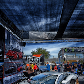 Lamborghini Murciliago by Ferdinand Ludo - Transportation Automobiles ( las vegas, sema, nov 2013, car show )