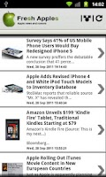 Screenshot of Fresh Apples (Apple news)