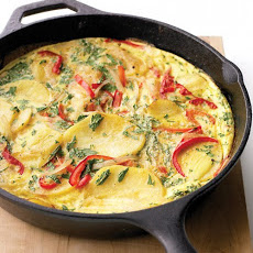Spanish Tortilla with Bell Pepper