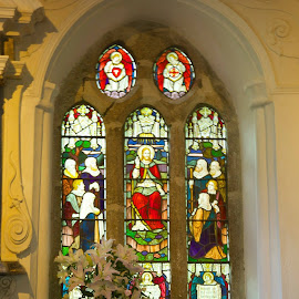 Church window by Jane Dunne - Buildings & Architecture Places of Worship (  )