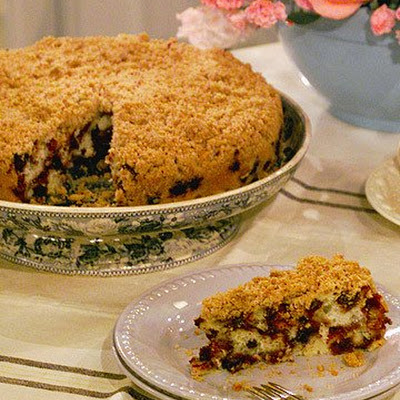 Mrs. Kostyra's Streusel Topping