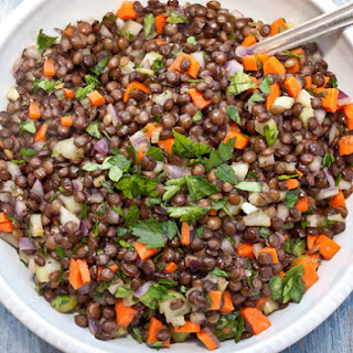 Cumin-Scented French Lentil Salad