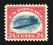 Inverted Jenny, position 59