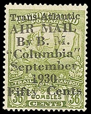 Surcharge pour le Columbia