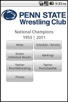 Screenshot of Penn State Wrestling Club