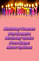 Screenshot of Birthday Insta Photo Frames