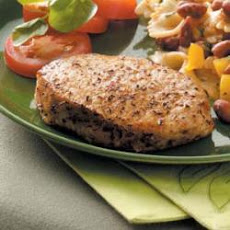 Basil Pork Chops